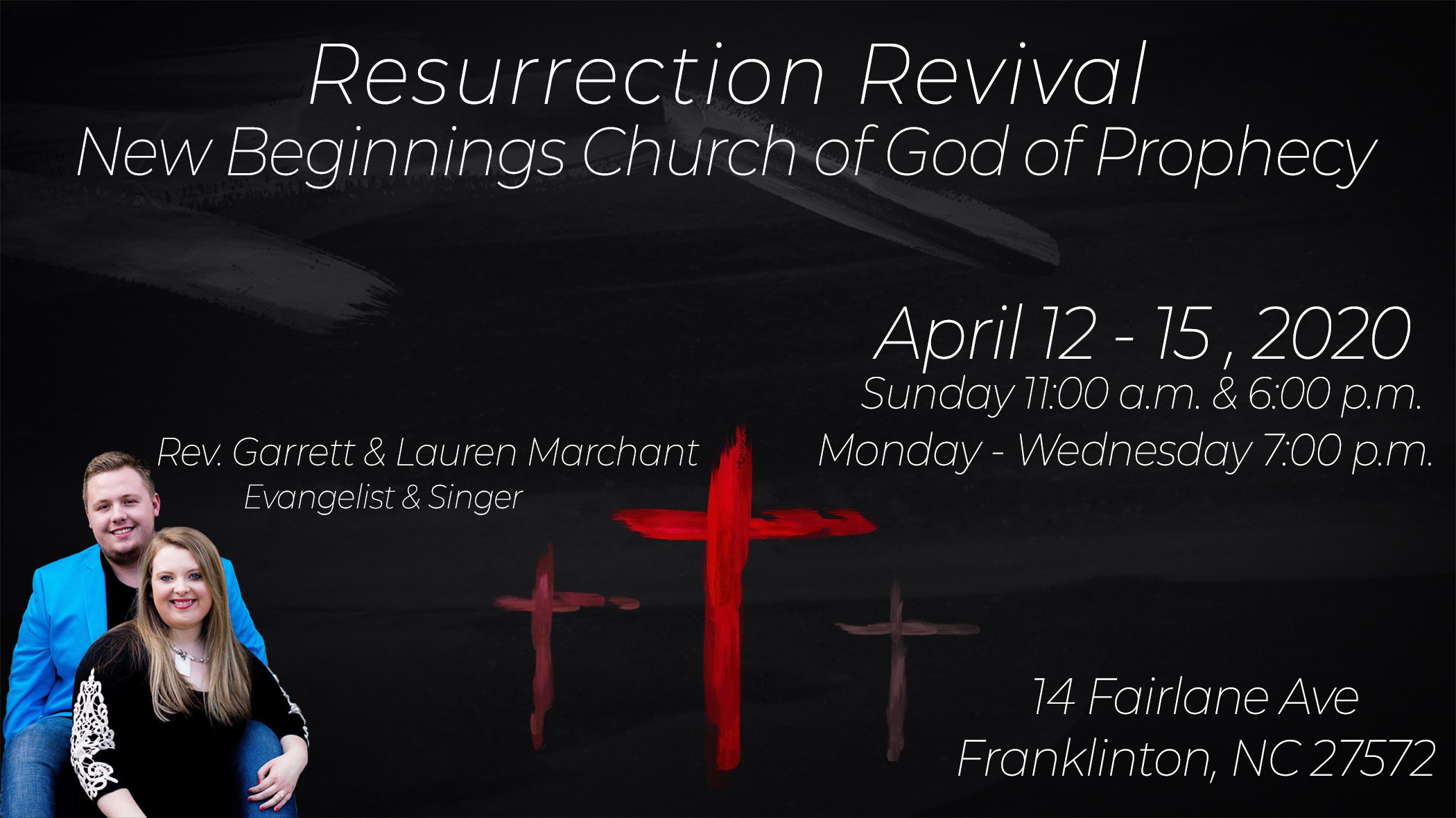 New Beginnings Church of God of Prophecy-Cancelled ...